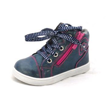 Ботинки для девочки Сердечки   82B-SW-0881