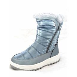 Зимние ботинки для девочки BG  Платина