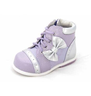 Ботинки для девочки Жаклин сиреневые