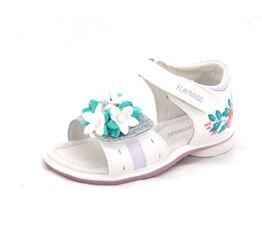 Сандалии для девочки Букет белые  91S-GB-1209