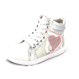 Ботинки для девочки Клэр серебро