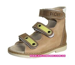 Ортопедические сандалии лечебной серии Ecoby  002 CL (30)