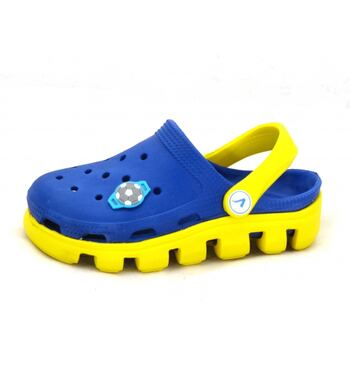 Кроксы Vitalia сине желтые Т