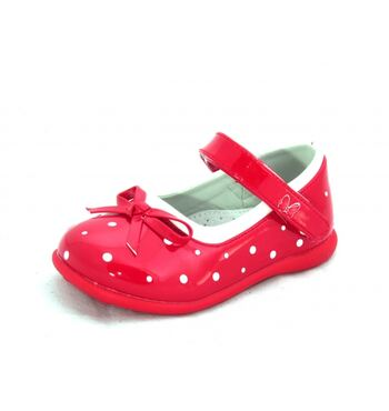 Туфли для девочки Горох