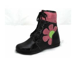 Ботинки для девочки Осень розовые