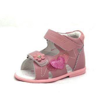 Сандалии для девочки Васильки розовые