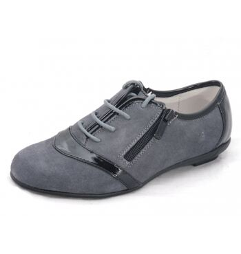 Туфли для девочки Ариша серые