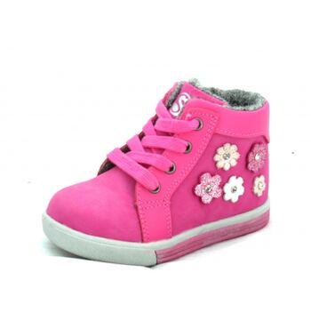 Ботинки для девочки Цветочки