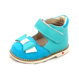 Ортопедические туфли для девочки Жизель бирюза