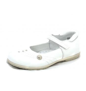 Туфли Виолетта белые