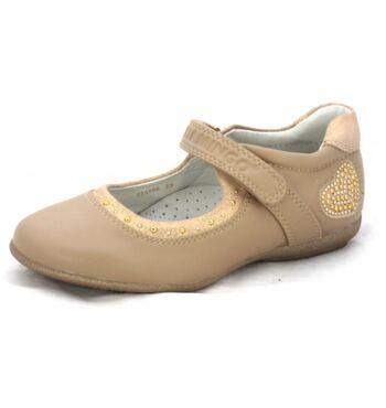Туфли для девочки Соня бежевые