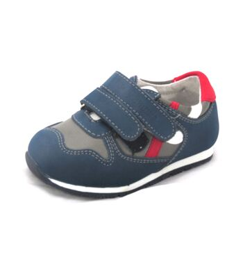 Кроссовки для мальчика Атлет темно синие (20)