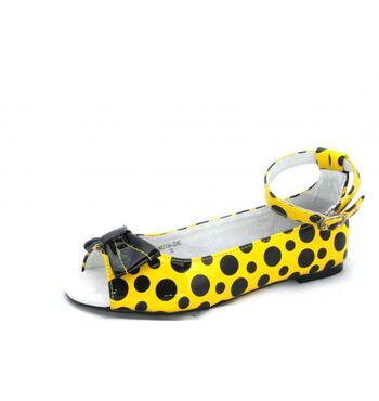 Туфли летние для девочки Шарики