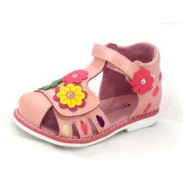 Босоножки для девочки Арлекино розовые