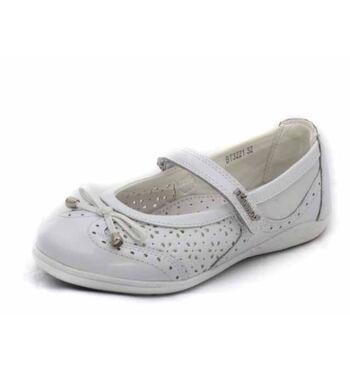 Туфли для девочки Сирень белая