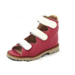 Ортопедические сандалии для девочки 0906 красные