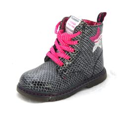 Ботинки для девочки Змейка