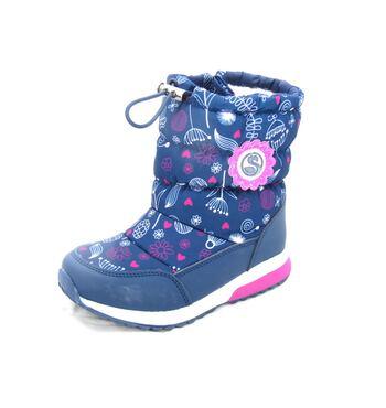 Зимние сноубутсы для девочки Розочка 82D-NQ-1030